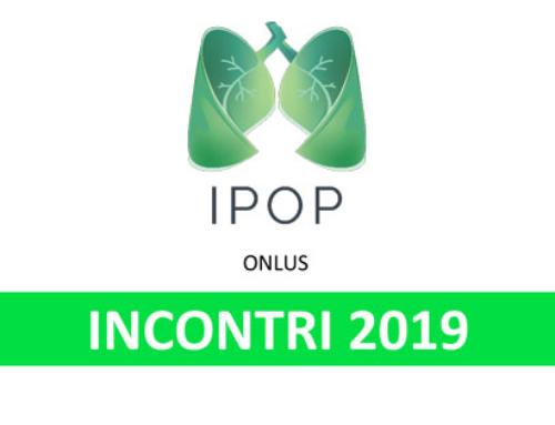 Associazione IPOP – Incontri 2019